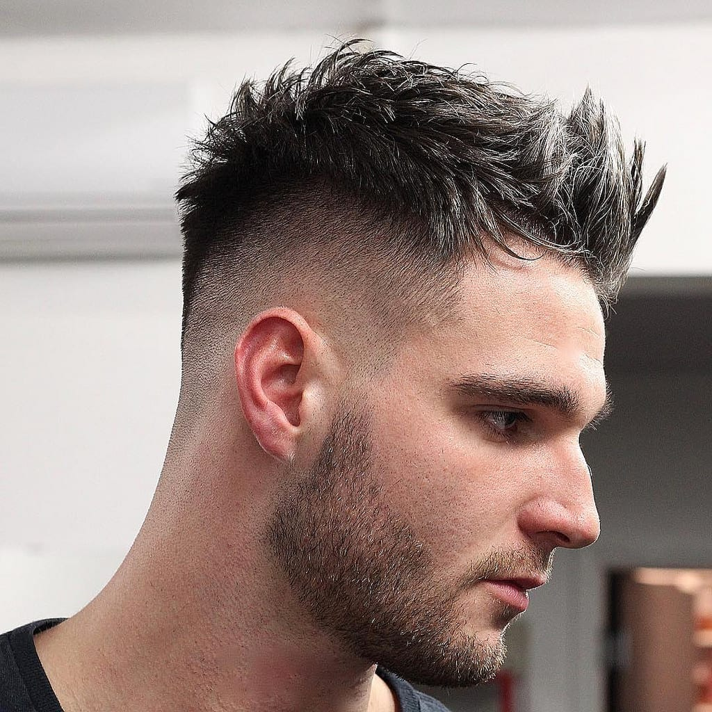 undercut faux hawk
