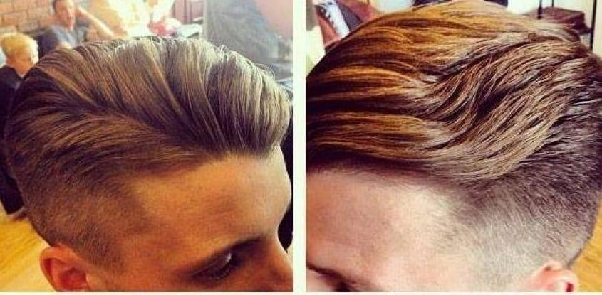 temp fade hairstyle