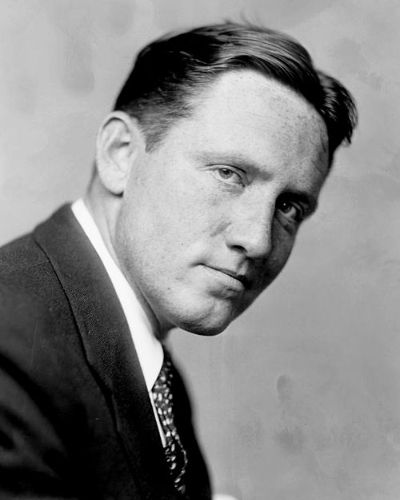 Short Sides Long Top and Middle Part Young Spencer Tracy