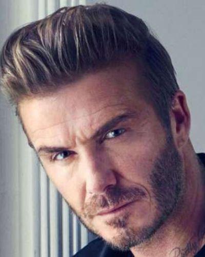 David Beckham Pompadour