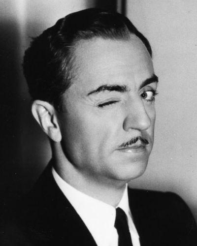 The William Powell Villain Look with Short Mustache