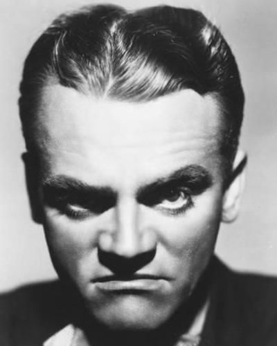 The James Cagney Middle Part Gelled