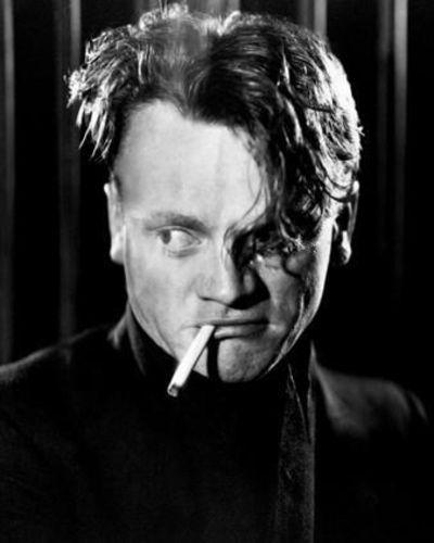 The James Cagney Rebel Look Short Sides Long Top Fringe