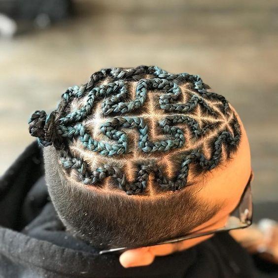 maze style braid