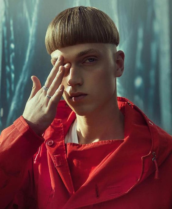 Basic Bowl Cut Mushroom with Shaved Sides