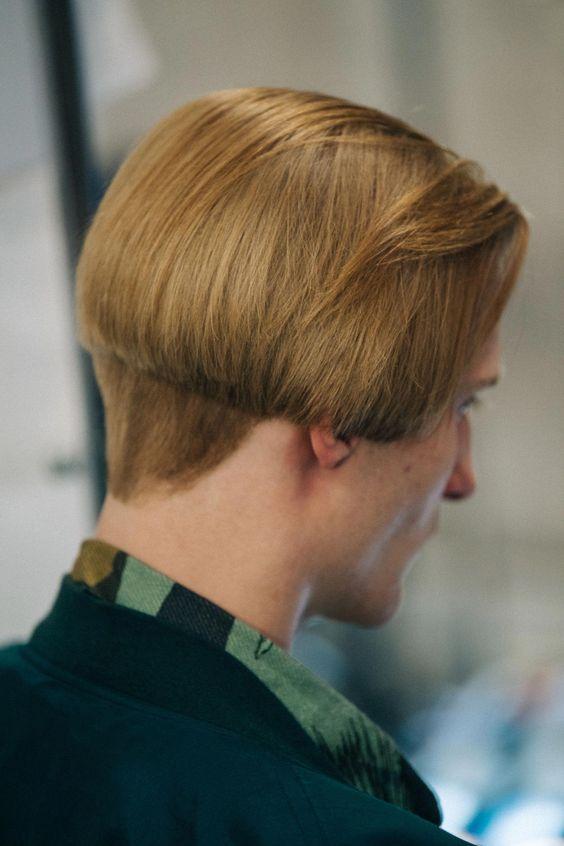 Bowie-Style Mushroom Cut