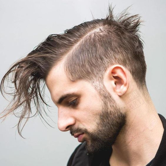 Longer Top and Short Sides for Thin Hair