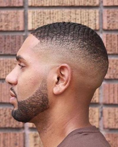 Extra Short Hair Waves with High Fade