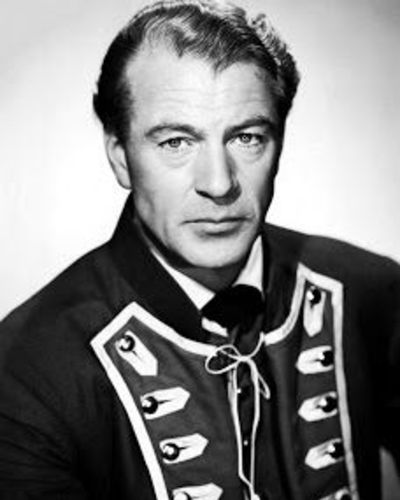 The Old Gary Cooper with Widows Peak and Combover