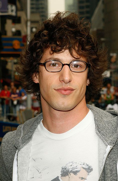 The Andy Samberg carefree hairstyle