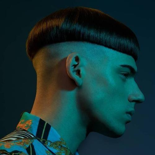 High Mushroom haircuts, Shaved Sides
