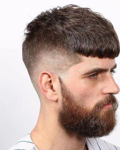 Tilted Crop Haircut