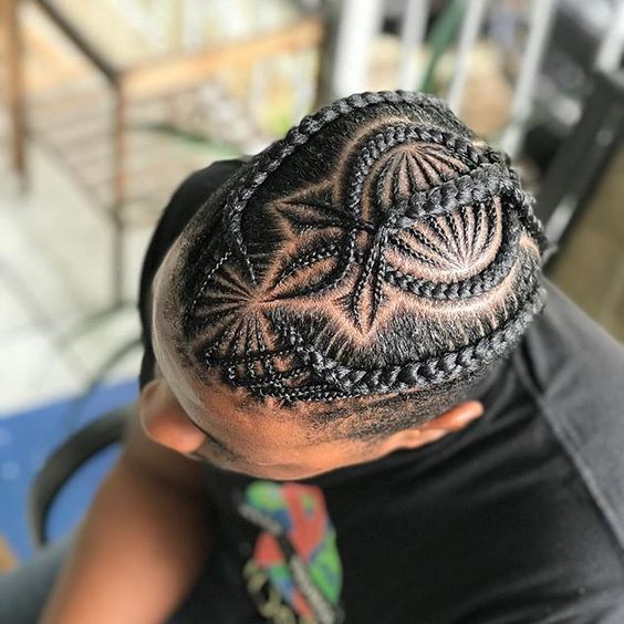 Artsy Design braided hairstyle