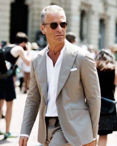 The Short Grey Hair Classy Style