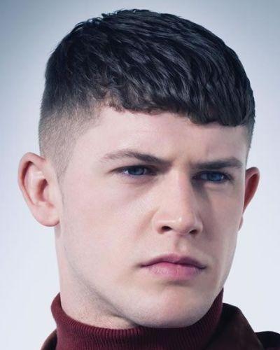 Slight Fringe Crop Haircut