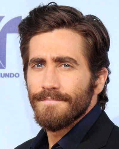 Side Swept Hair with Part like Jake Gyllenhaal