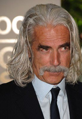 the sam elliott long gray hair style