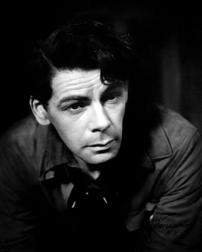 The Young Paul Muni Wavy Side Part