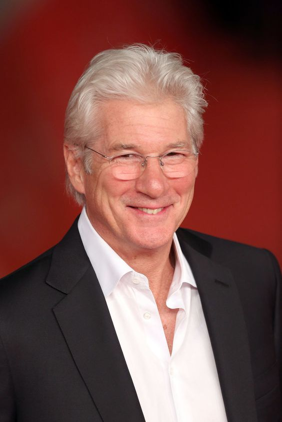 the richard gere - gray hair styles for men