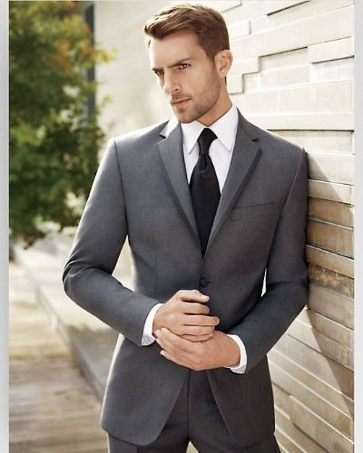 Short Classy Hairstyle with Short Beard