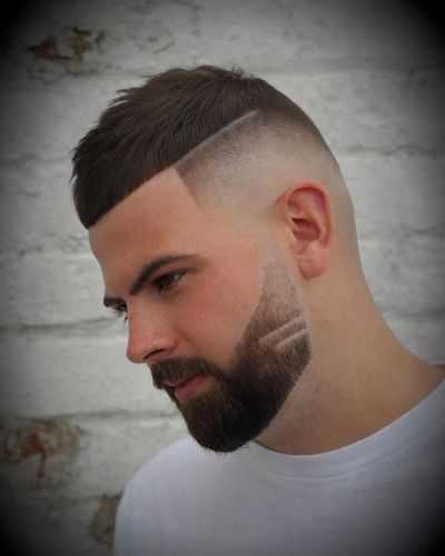 The Hard Part Crop with Bald Fade