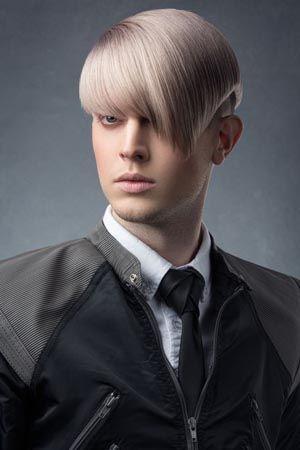 Side Fringe Mushroom Haircut