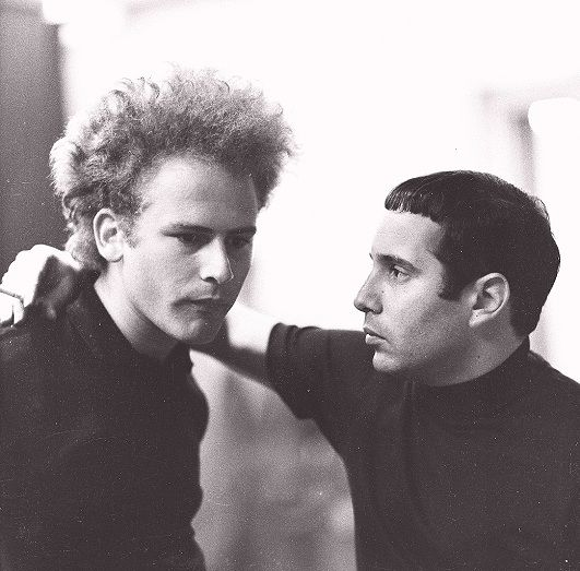 Simon and garfunkel fashion black and white