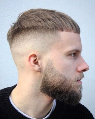 Basic Crop and Geometrically Cut Beard