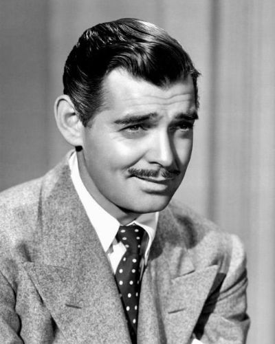 The Classic Clark Gable Gelled Look