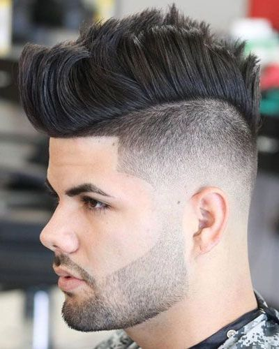 Shape Up Mohawk Haircut Tapered