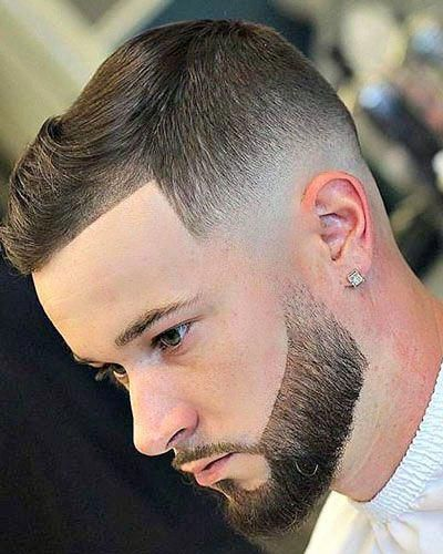 Basic Shape Up Crop Top with Bald Fade