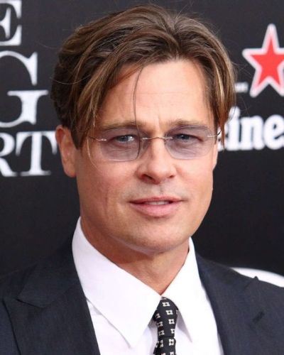 Brad Pitt Bangs