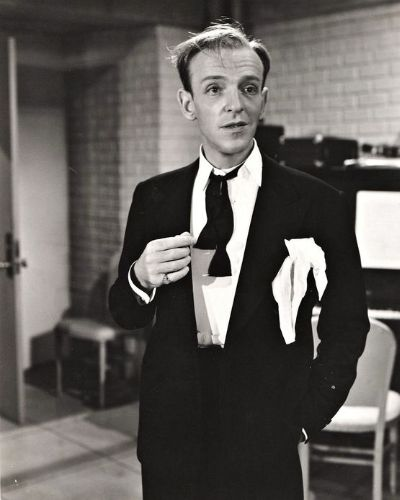 The Classic Messy Fred Astaire for Triangle Faces