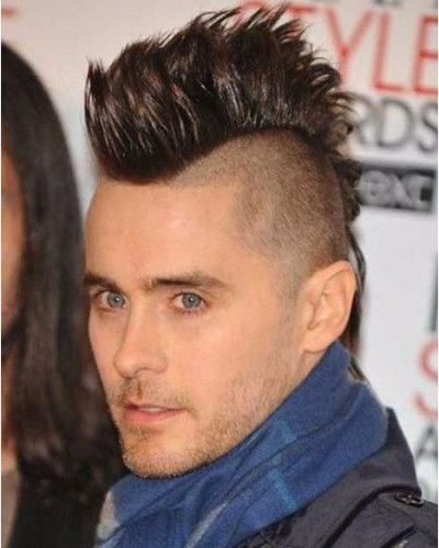 The Jared Leto Mohawk Crop