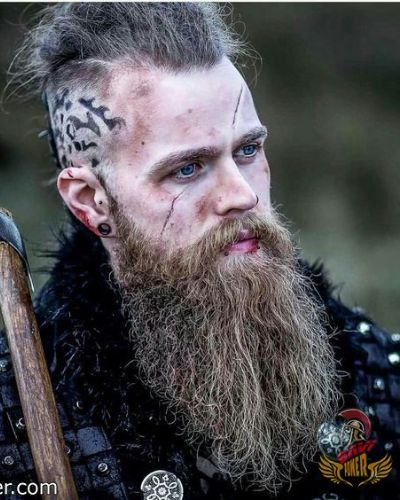 The Modern Viking Look with Skull Tattoos
