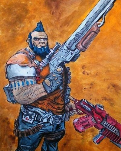 Salvador from The Borderlands 2
