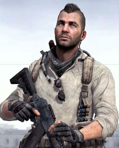 John Soap MacTavish from Call of Duty