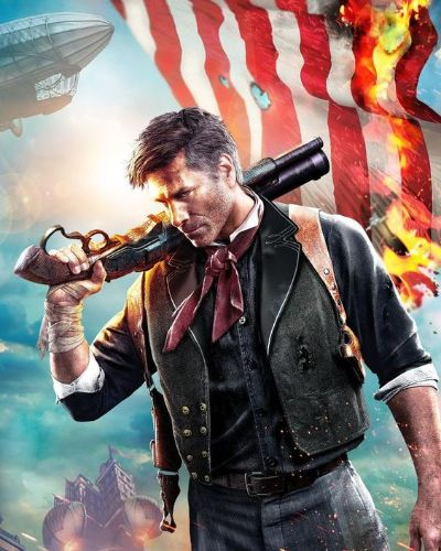 Booker Dewitt from BioShock Infinite