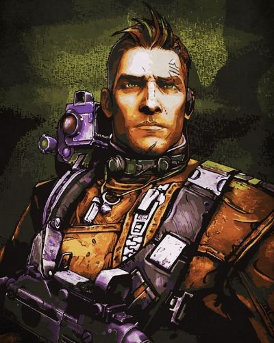 Axton from The Borderlands