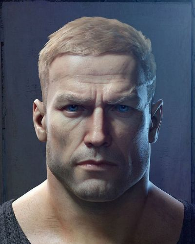 B.J. Blazkowicz from Wolfenstein