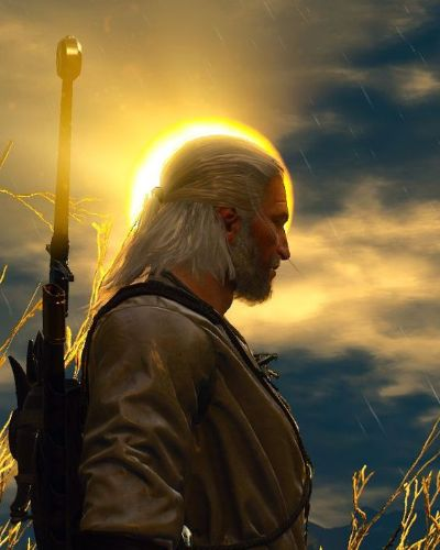 Geralt of Rivia from The Witcher 3