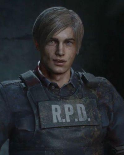 Leon from Resident Evil