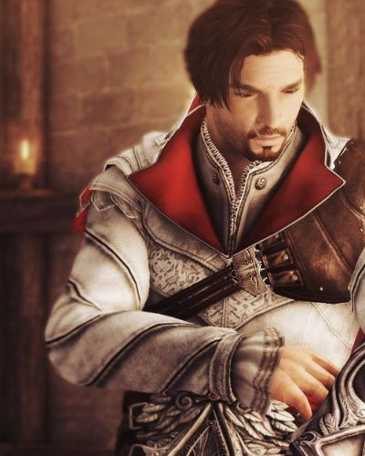 Ezio Auditore from Assassins Creed 2 Brotherhood