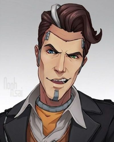 Handsome Jack from The Borderlands