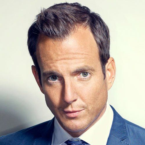 Will Arnett Hairstyles for Receding Hairline