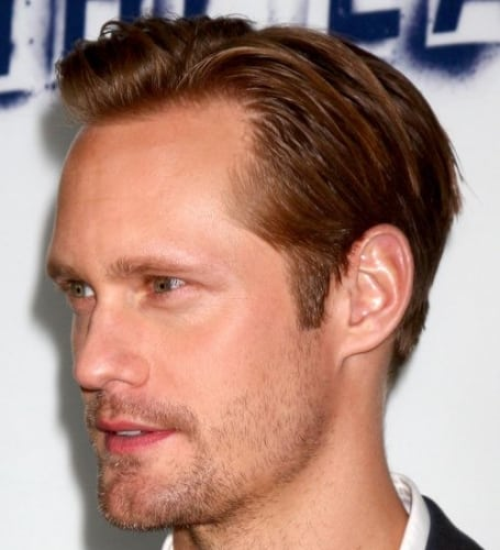 alexander skarsgard hairstyles for men with receding hairlines