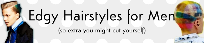 edgy hairstyles banner