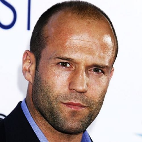 jason statham short hairstyle receding hairline