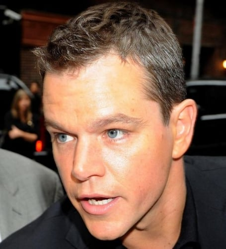 matt damon short cut hairstyle