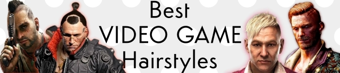 video game hairstyles banner